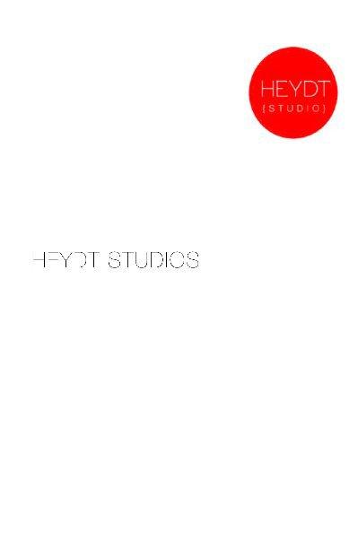 View Heydt Studio Pamplet by Sam Heydt, Studio Manager