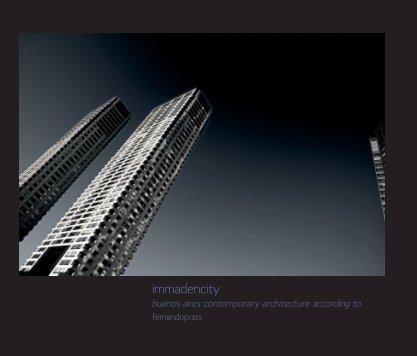 Immadencity - Arquitectura libro de fotografías