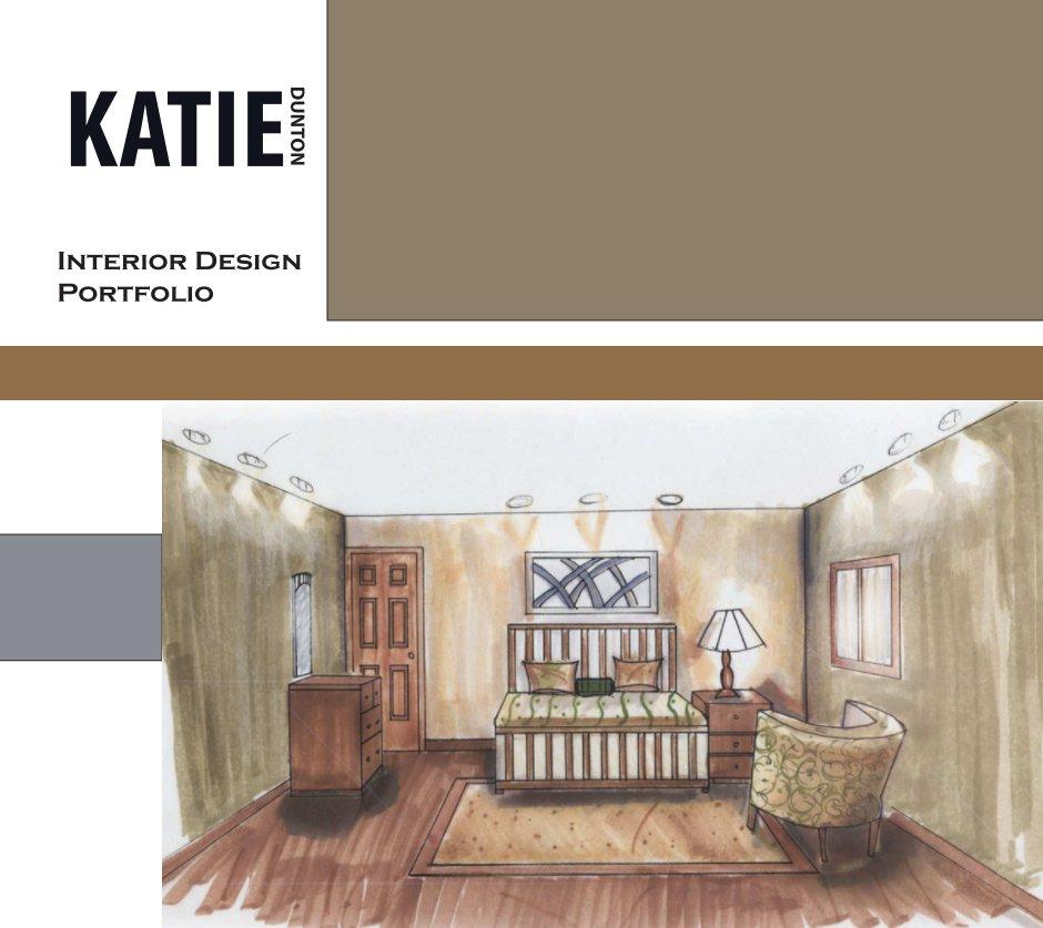 Interior design portfolio by katie dunton blurb books uk