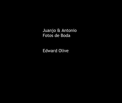 Juanjo & Antonio Fotos de Boda Edward Olive - Wedding photo book