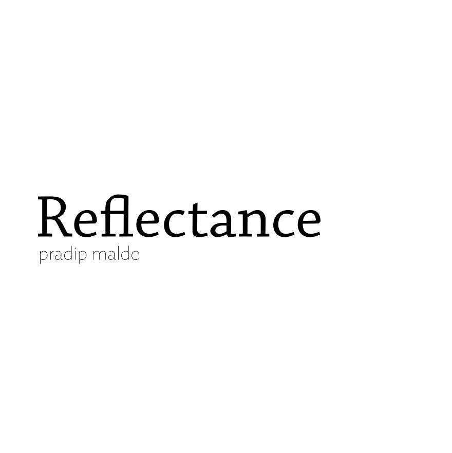 View Reflectance by Pradip Malde