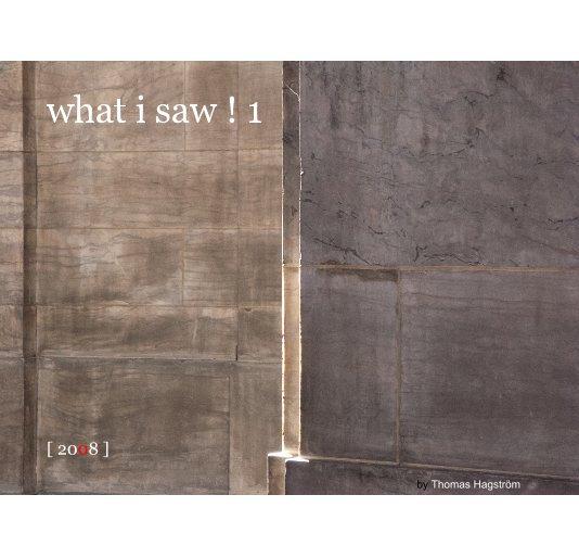 View what i saw ! 1 by Thomas Hagström