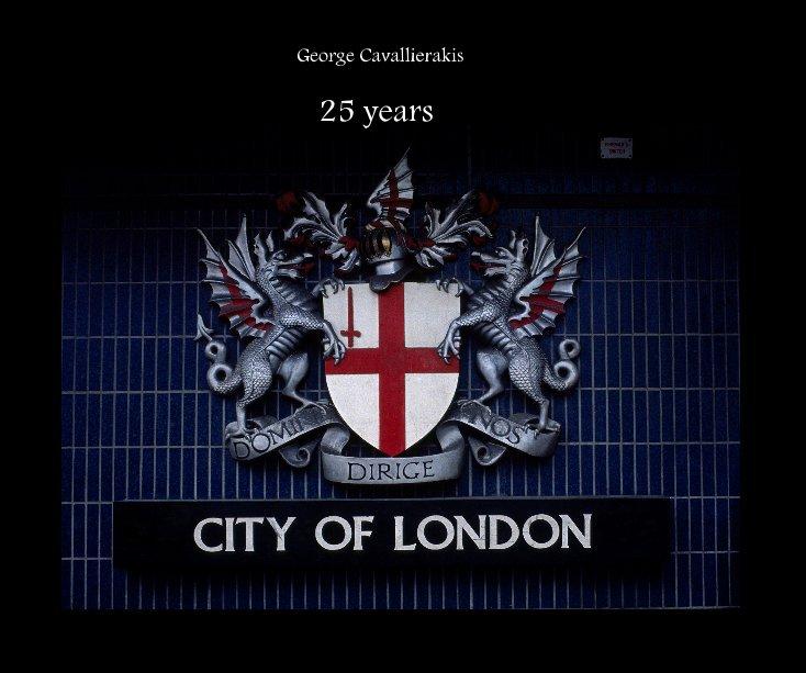 Ver 25 years por G. Cavallierakis