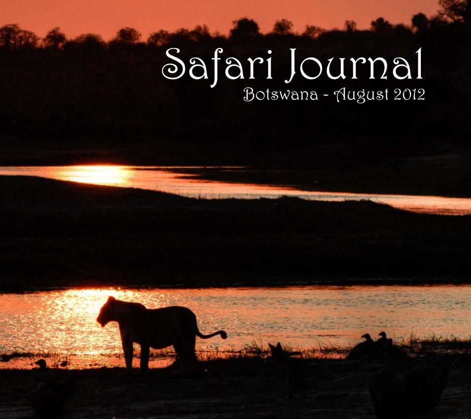 View Safari Journal by Prof Ian Purves