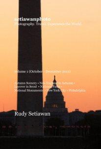 setiawanphoto volume 1 (October - December 2011) - Travel pocket and trade book
