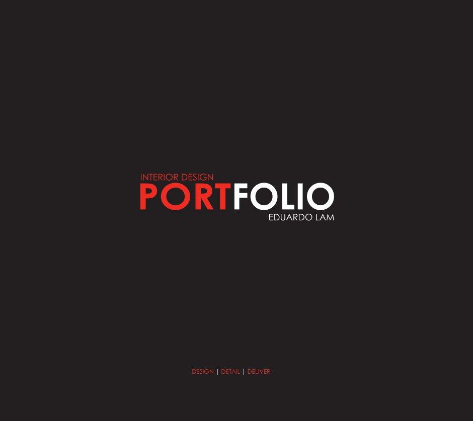 Interior design portfolio by ed blurb books canada for Interior design portfolio cover