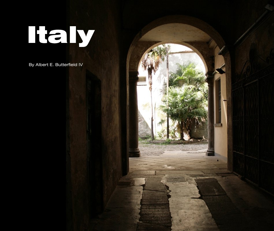 View Italy by Albert E. Butterfield IV