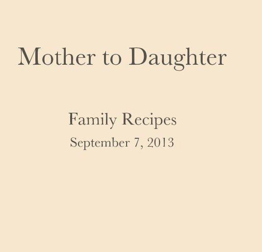 Ver Mother to Daughter por jkarandy