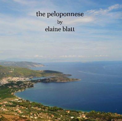 the peloponnese by elaine blatt - Arts & Photography Books photo book