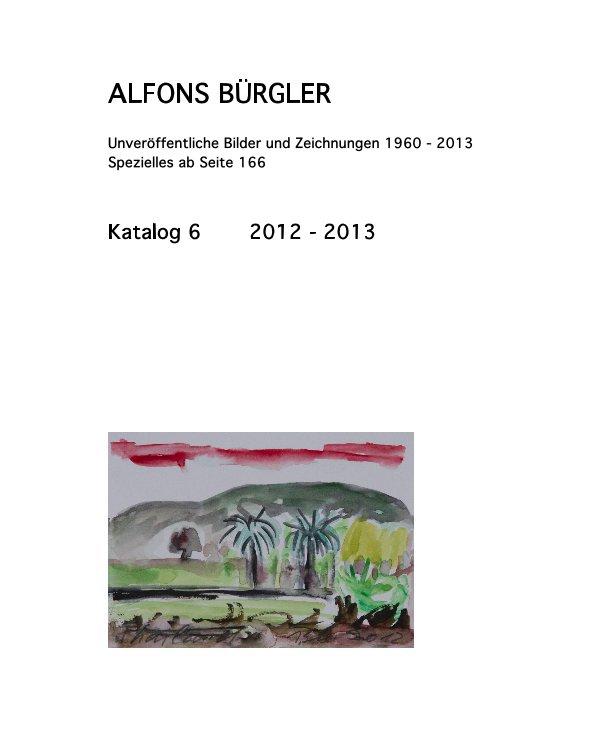 Katalog 6 nach ALFONS BÜRGLER anzeigen