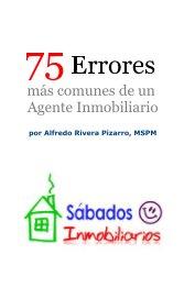 75 Errores más comunes de un Agente Inmobiliario - pocket and trade book
