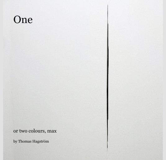 View One by Thomas Hagstrom