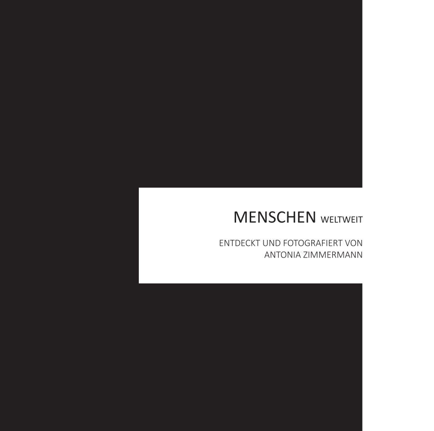 View MENSCHEN WELTWEIT by Antonia Zimmermann