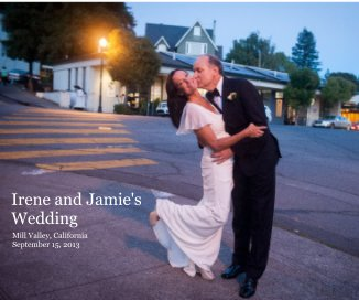 Irene and Jamie's Wedding - Wedding photo book