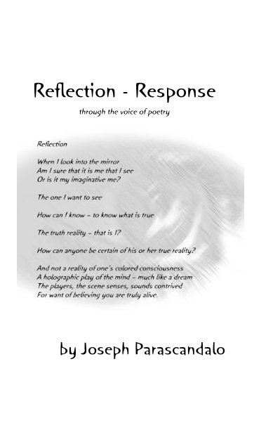 View Reflection - Response through the voice of poetry by Joseph Parascandalo