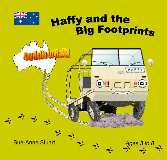 View Haffy and the Big Footprints by Sue-Anne Stuart