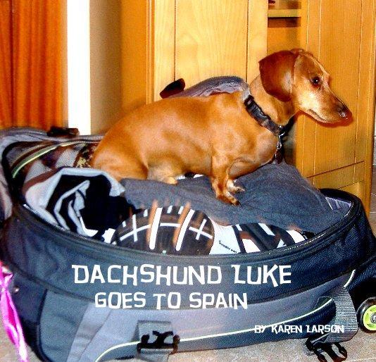 View Dachshund Luke goes to Spain by Karen Larson