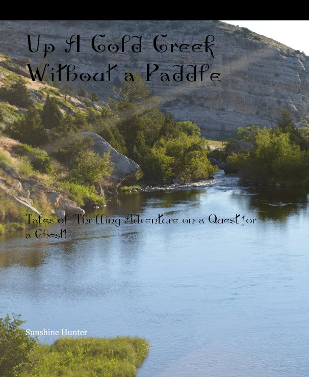 View Up A Cold Creek Without a Paddle by Sunshine Hunter