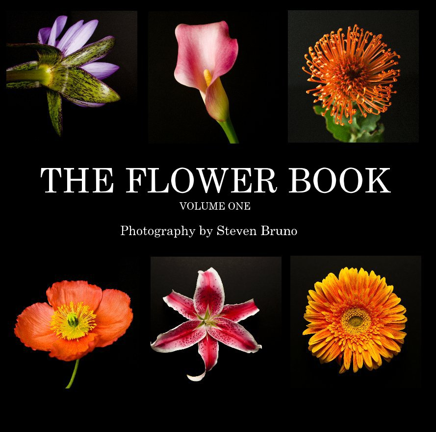 View THE FLOWER BOOK VOLUME ONE by Photography by Steven Bruno