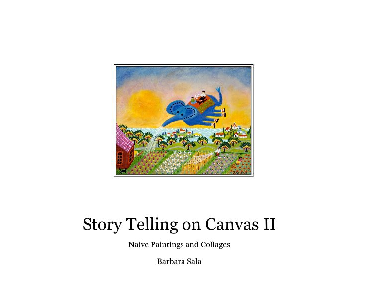 View Story Telling on Canvas II by Barbara Sala
