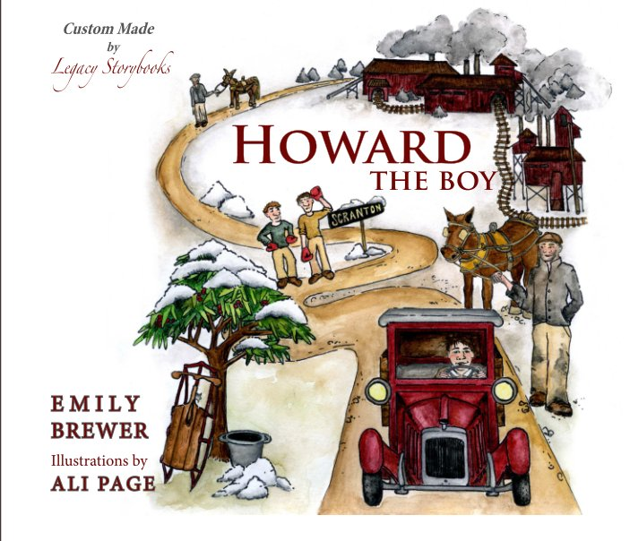 View Howard the Boy (revised edition 2014) by Emily Brewer