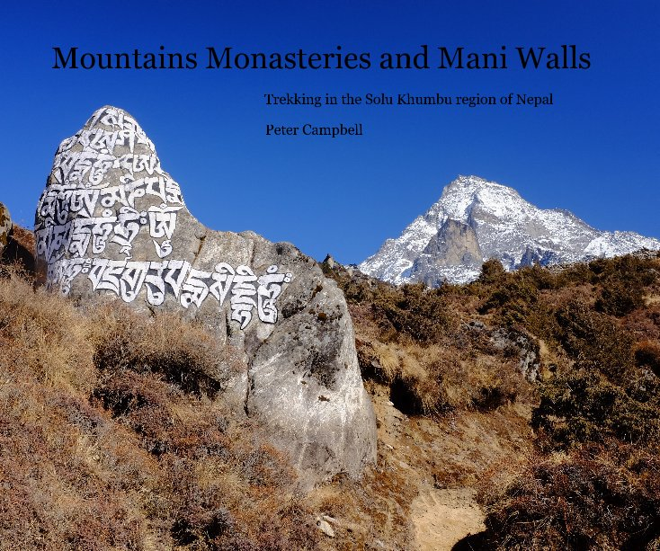 View Mountains Monasteries and Mani Walls by Peter Campbell