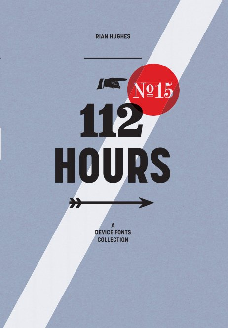 View 112 Hours (hardback) by Rian Hughes