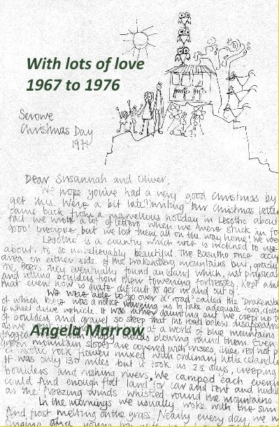 View With lots of love 1967 to 1976 by Angela Marrow