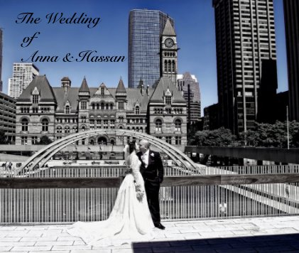 The Wedding of Anna & Hassan - Wedding photo book