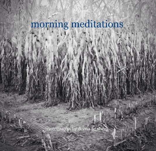 View morning meditations by deena feinberg