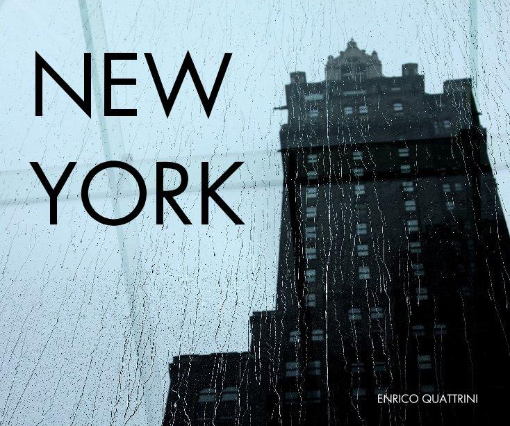 View NEW YORK by ENRICO QUATTRINI