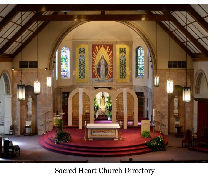 View Sacred Heart Church Directory by The Sacred Heart Parishioners