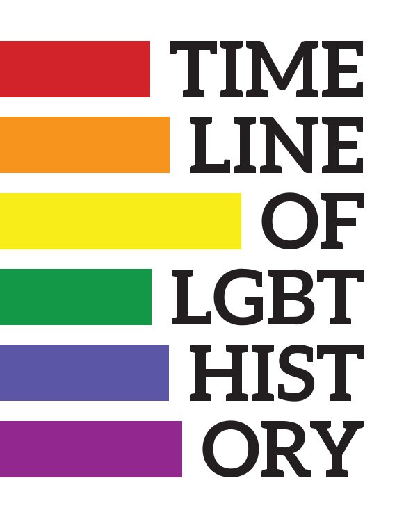 View Timeline of LGBT History by Wikipedia
