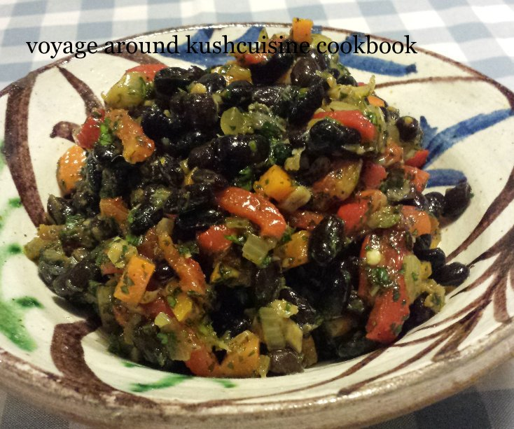View voyage around kushcuisine cookbook by ian and sadie jennings