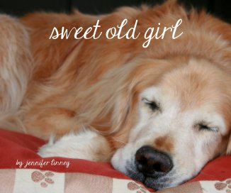 sweet old girl - Pets photo book