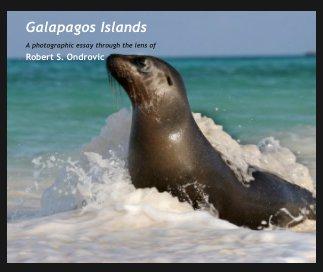 Galapagos Islands book cover