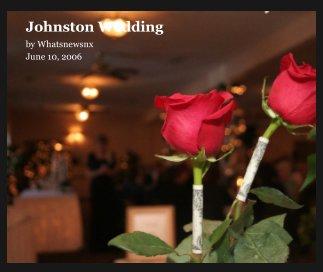 Johnston Wedding book cover