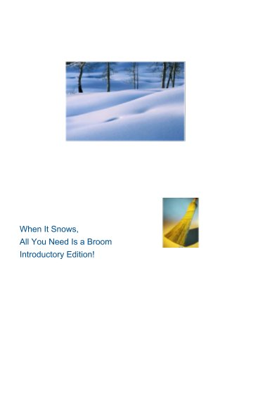 View When It Snows, All You Need is A Broom by Jean Anita Harris