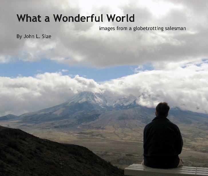 View What a Wonderful World by John L. Size