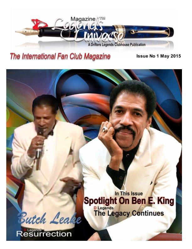 View D Legends Universe International Fan Club Magazine by Butch Leake