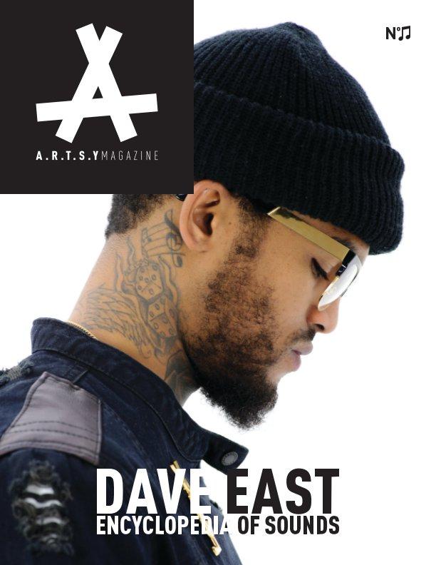 N11: DAVE EAST by ARTSY Magazine | Blurb Books Canada