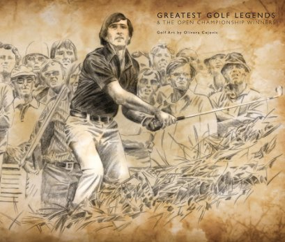 Greatest Golf Legends and The Open Championship Winners book cover