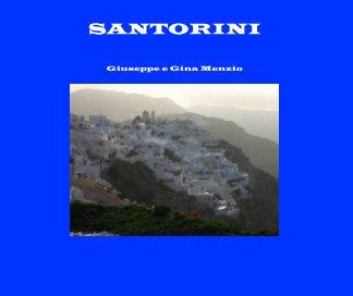 SANTORINI book cover