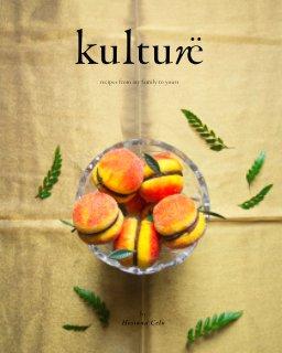 Kulturë: Cookbook book cover