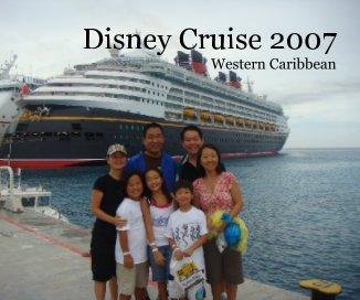 Disney Cruise 2007 book cover