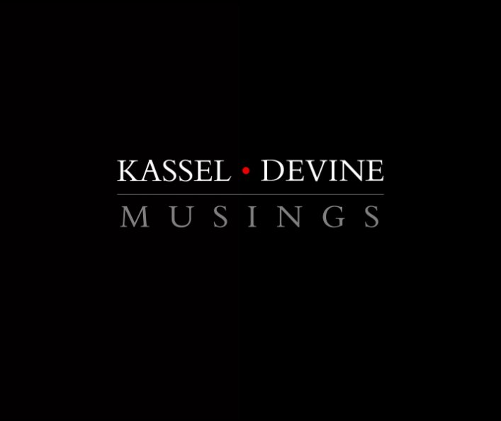 View Musings by Jed Devine and Barbara Kassel
