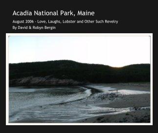 Acadia National Park, Maine book cover