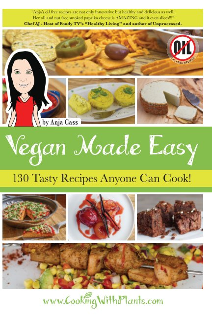 View Vegan Made Easy by Anja Cass