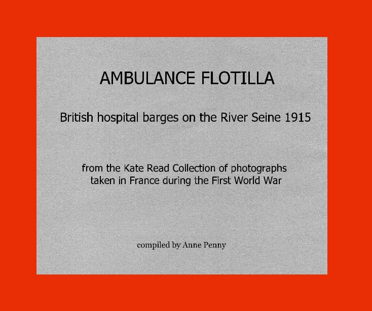 View AMBULANCE FLOTILLA by Anne Penny