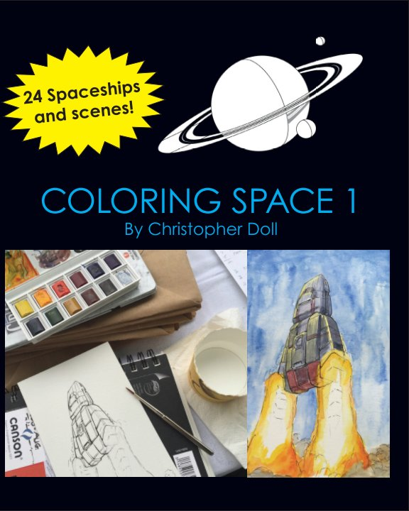View Coloring Space 1 by Christopher Doll